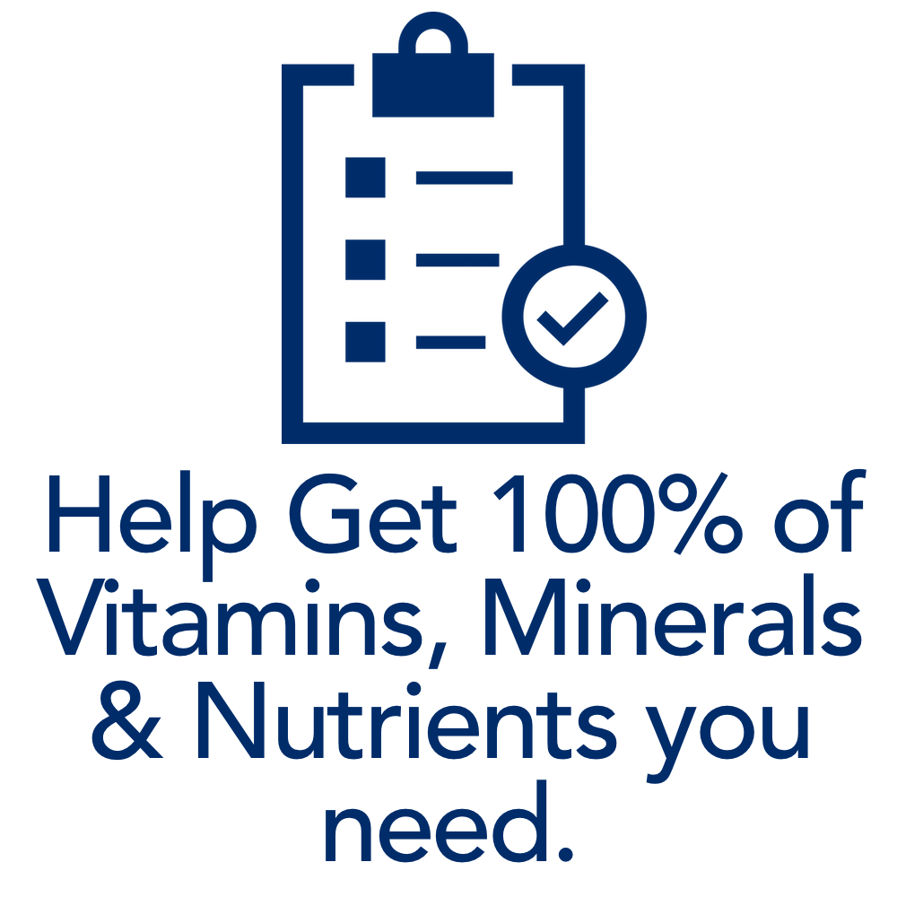 help get your body all the nutrients it needs